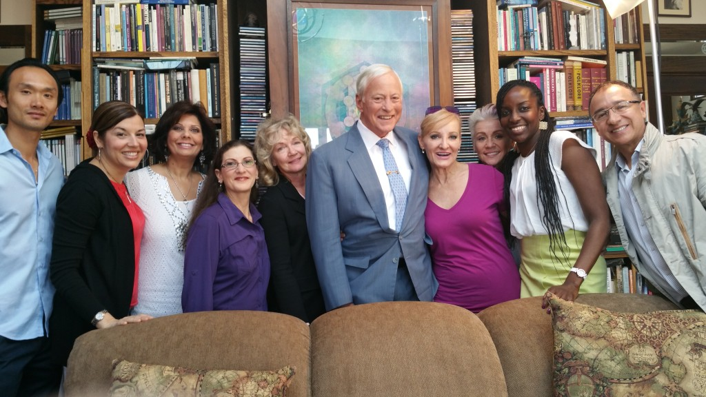 photo-groupe-tournage-brian-tracy-robin-jay-farida-akadiri-kathryn-brinkley